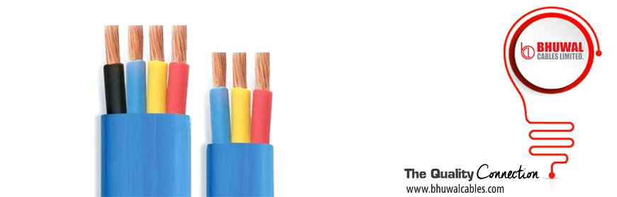 Flexible Flat Cable Manufacturers : Flat rubber cable manufacturer core